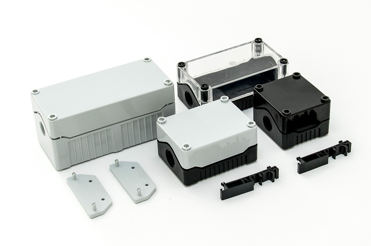 BO2SBG - BO2 Series IP67 Enclosures with Standard Base (53mm)
