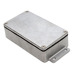 Deltron Enclosures - IP68 EMI / RFI Flanged Series Enclosures