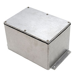 Deltron Enclosures - IP68 Flanged Series Enclosures