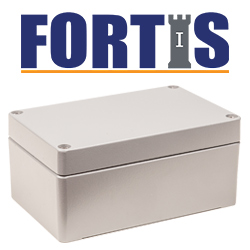 IP66 Fortis Enclosure Range - Deltron Enclosures