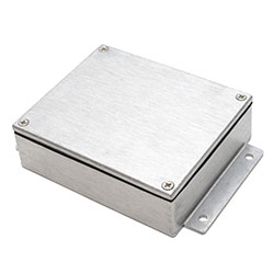 483-C070 - IP68 EMI / RFI Flanged Enclosures