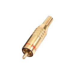 320-0000 - Professional Phono Plug Gold Shell