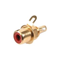 432-0500 - Professional Phono Line Socket Gold Shell