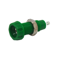 551-0400 - 4mm Panel Mounting Socket - Solder Terminal Connection