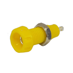 551-0700 - 4mm Panel Mounting Socket - Solder Terminal Connection