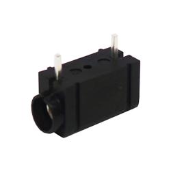 571-0110 - 4mm 90deg PCB Mounted Insulated Socket - Single - Shorter Pin