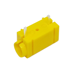 571-0710 - 4mm 90deg PCB Mounted Insulated Socket - Single