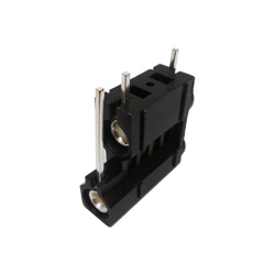 572-0100 - 4mm 90deg PCB Mounted Insulated Socket - Double