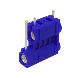 572-0200 - 4mm 90deg PCB Mounted Insulated Socket - Double