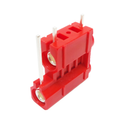 572-0500 - 4mm 90deg PCB Mounted Insulated Socket - Double