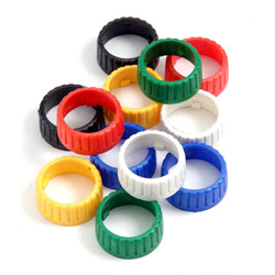 592-0000 - Colour Coding Rings for Ring Lock Din Connectors