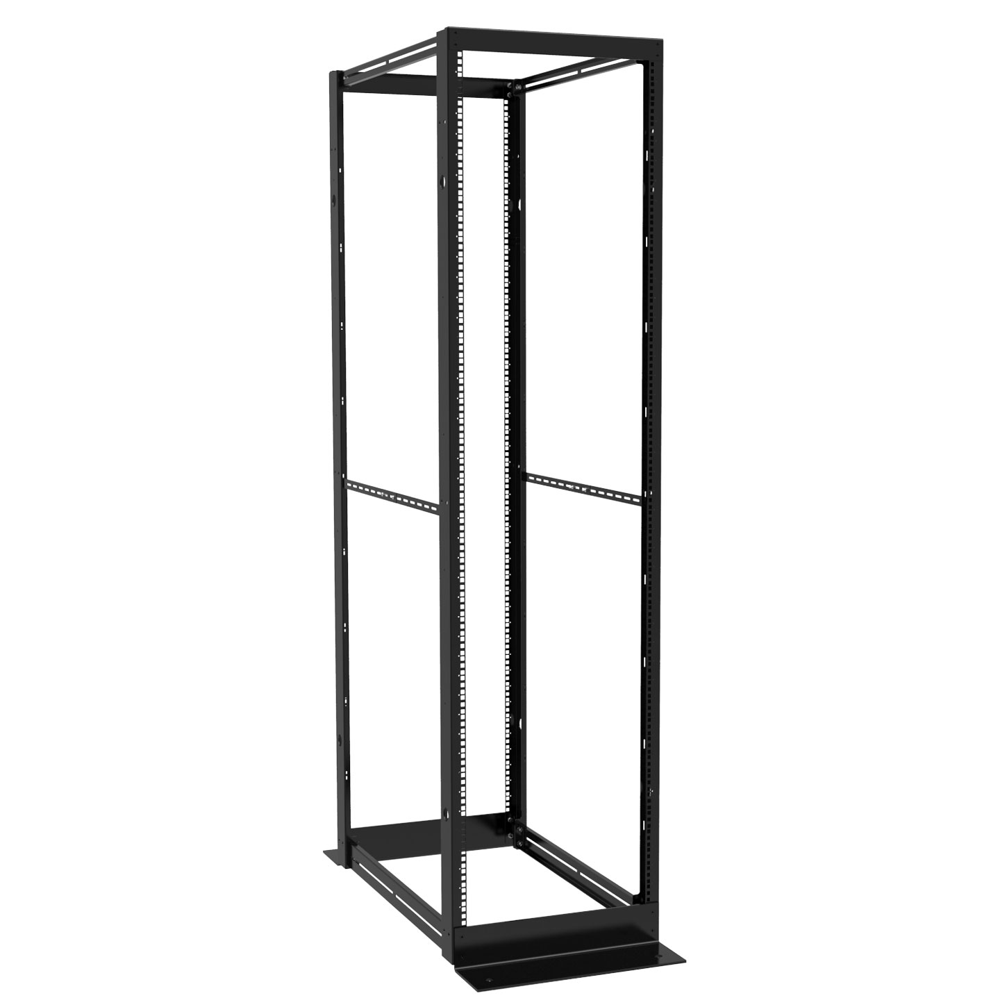 DC4R24 - DC4R Series Knockdown Steel 4-Post Rack DC4R Series