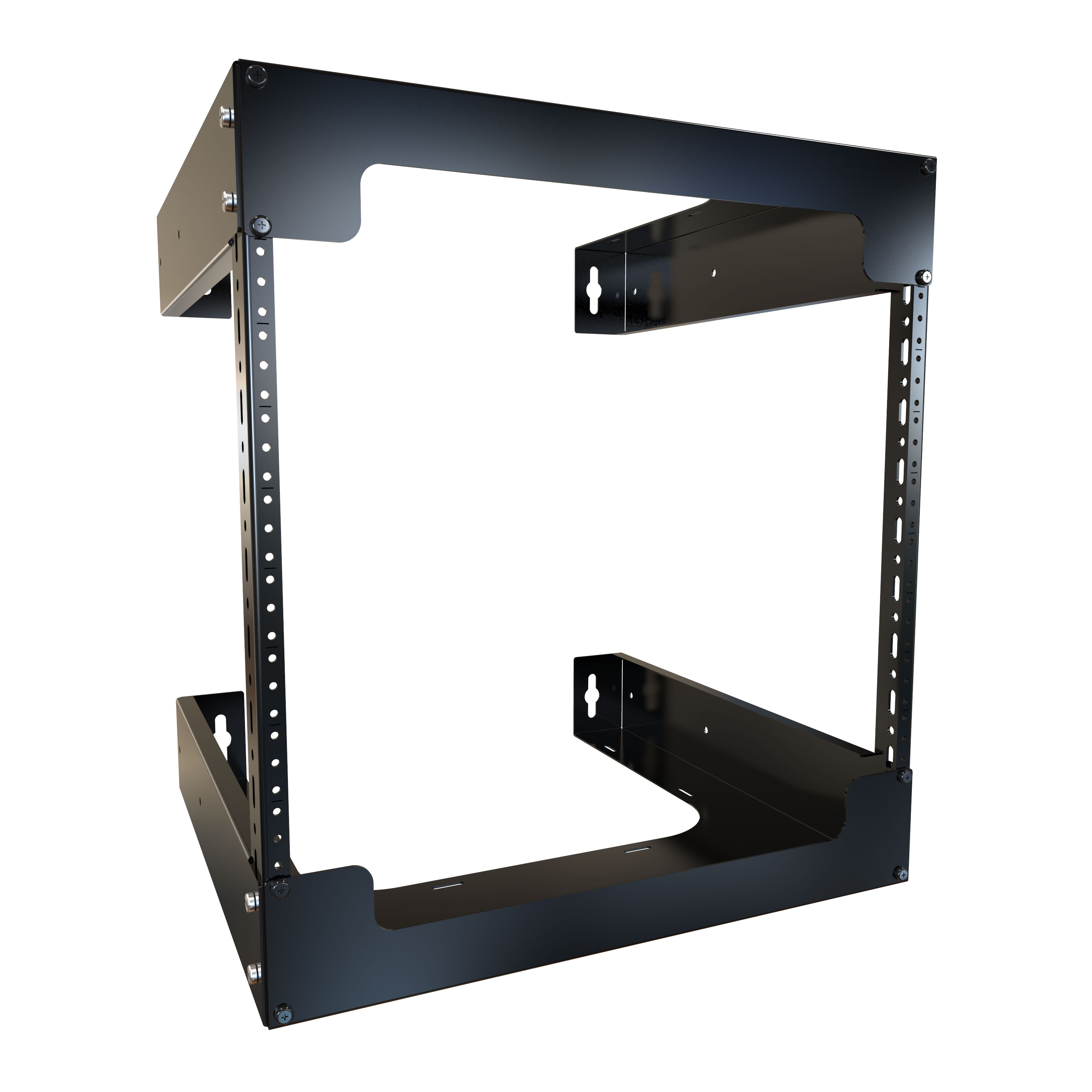 RB-2PW Series Wall Rack - Hammond Manufacturing Rack Systems