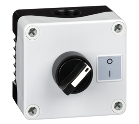 1DE.01.08AB - Control Stations Enclosure with a 2 - Position Selector Switch