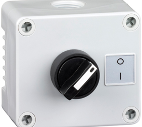 1DE.01.08AG - Control Stations Enclosure with a 2 - Position Selector Switch