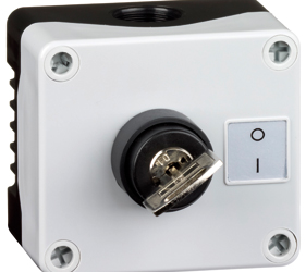 1DE.01.09AB - Control Stations Enclosure with a 2 - Position Key Switch