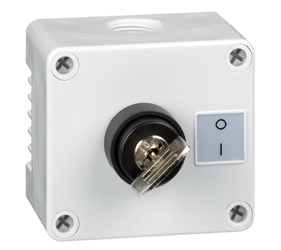 1DE.01.09AG - Control Stations Enclosure with a 2 - Position Key Switch