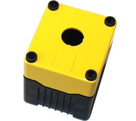 DE01D-P-YB-1 - Control Station Enclosure with One Hole and a Deep Base