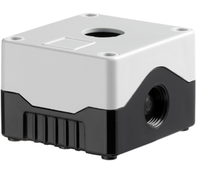 DE01S-A-GB-1 - Control Station Enclosure with One Hole and a Standard Base