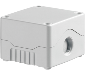 DE01S-A-GG-0 - Control Station Enclosure Without Hole and a Standard Base