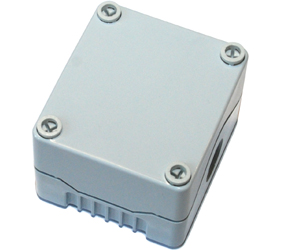 DE01S-P-GG-0 - Control Station Enclosure Without Hole and a Standard Base