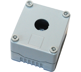 DE01S-P-GG-1 - Control Station Enclosure with One Hole and a Standard Base
