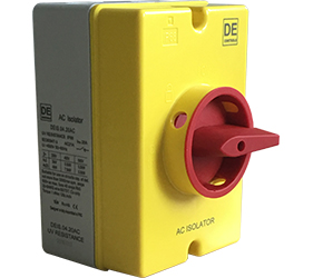 DE1S.04.25AC - 25A AC Isolator Switch