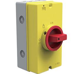 DE1S.04.63AC - 63A AC Isolator Switch