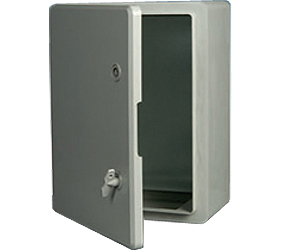 DED005 - DED Door Enclosure with a Solid Door and 2 Locks