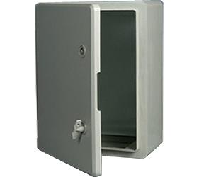 DED008 - DED Door Enclosure with a Solid Door and 2 Locks