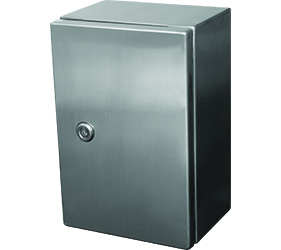 DEDSS3101 - DEDSS Steel Door Enclosure with a Solid Door and 1 Lock