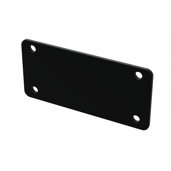 EP1-RD - Series 1 Enclosures Aluminium End Plate