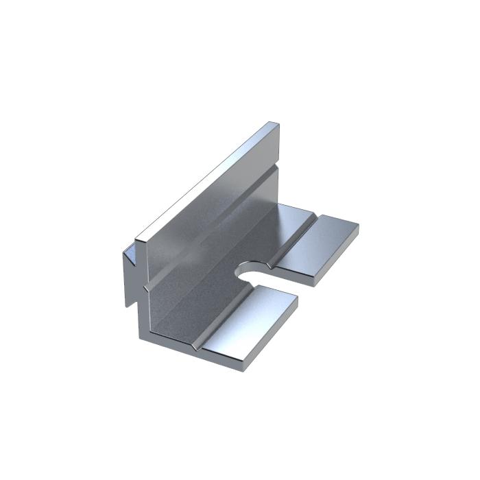 MF40BK - Aluminium Mounting Brackets