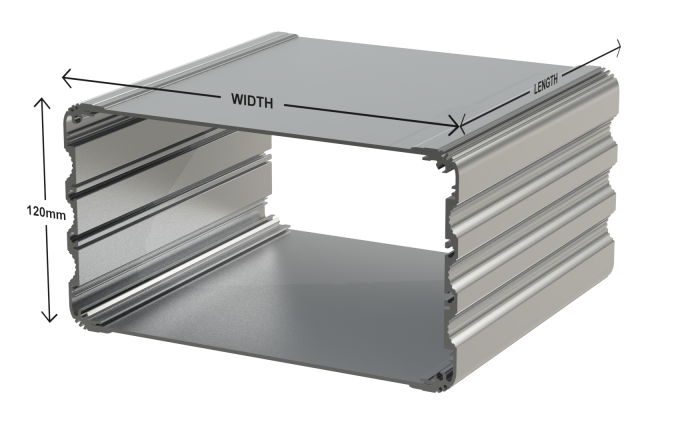 UnioBox 3 Extruded Aluminium Enclosures