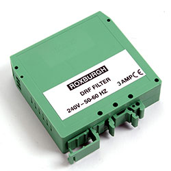 DRF03 - Din Rail Mounted Filter 3 Amps