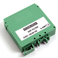 DRF06 - Din Rail Mounted Filter 6 Amps