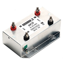 IHF25 - Single Phase Low Leakage Mains Filter - General Performance 25 Amps