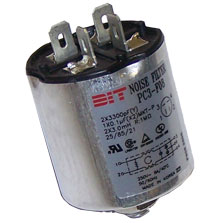 PC3-F08P - Cylindrical Can Filter 8 Amps