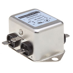RES20F03 - Chassis Mounted Filter, High Differential Mode 3 Amp