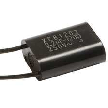 XEB1202 - RC Network Flying leads, 0.2µF 120Ω