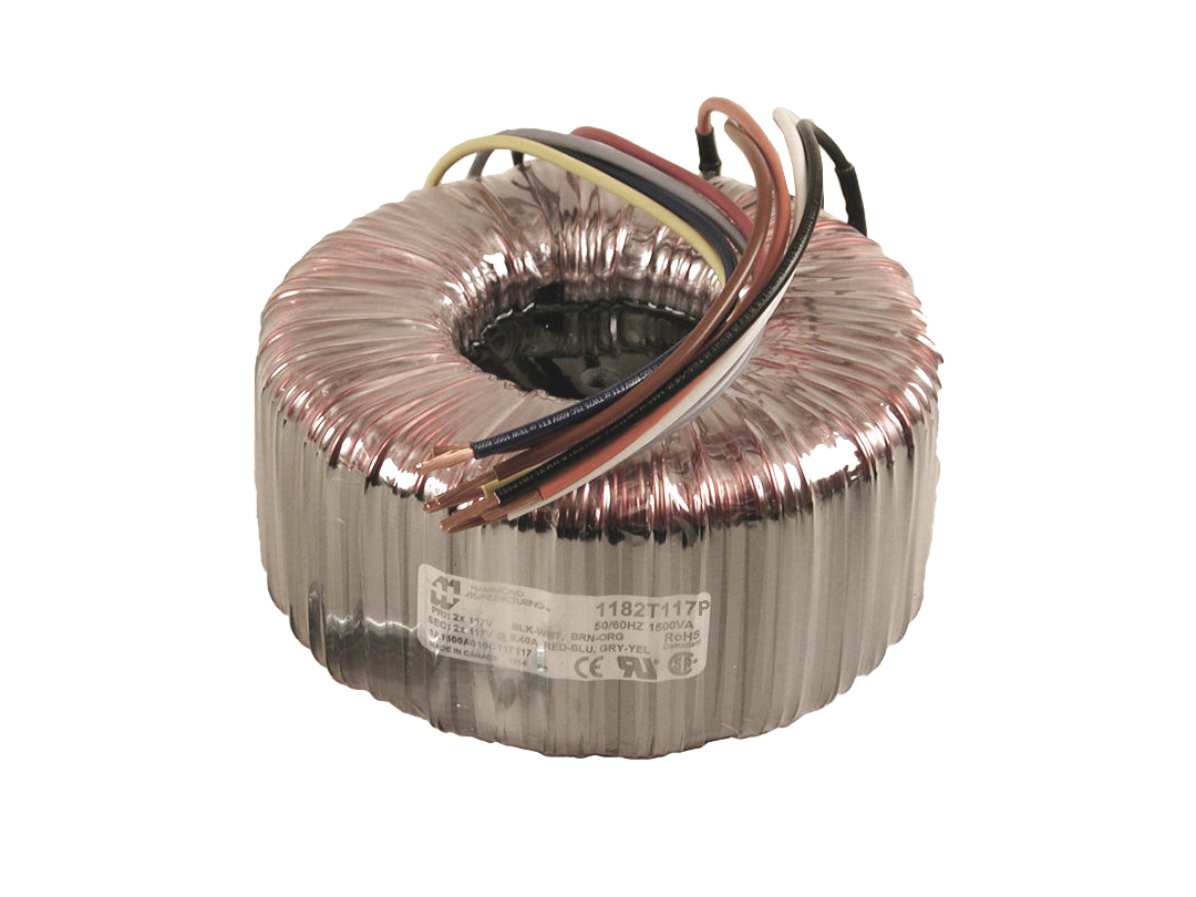1182E110 - 1182 Series Toroid Power Transformers