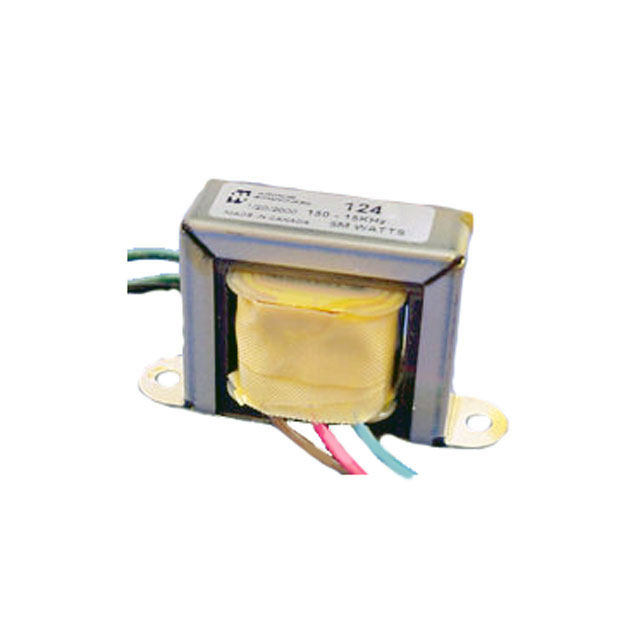 124 Series Transformers - Hammond Manufacturing Transformers