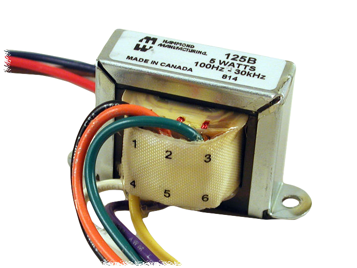 125A - 125E Series Transformers - Hammond Manufacturing Transformers