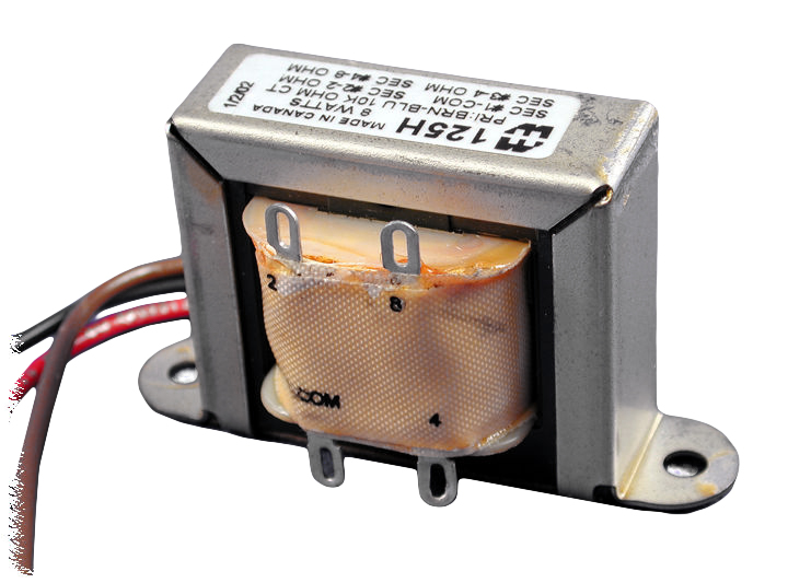 125H Series Transformers - Hammond Manufacturing Transformers