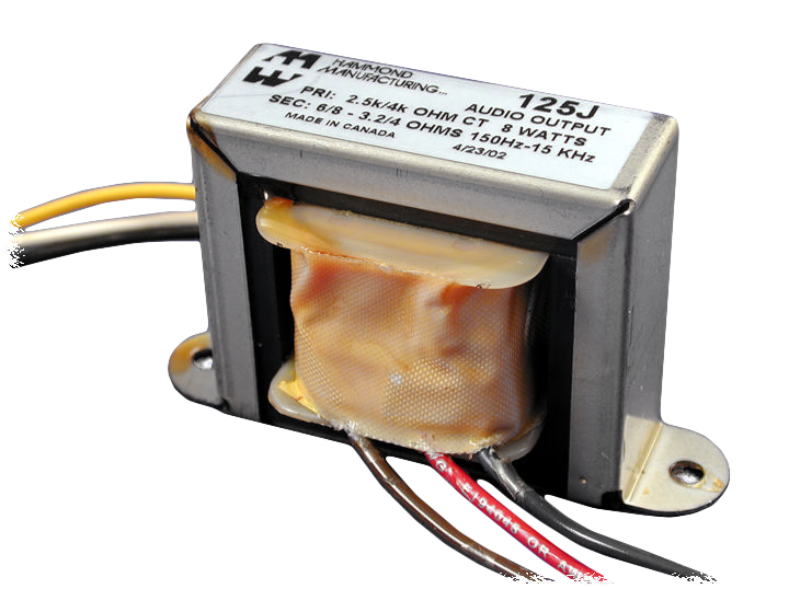 125J Series Transformers - Hammond Manufacturing Transformers