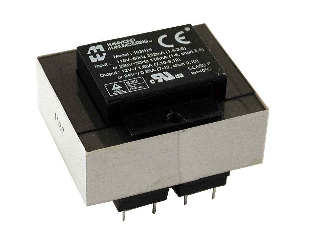 Hammond Manufacturing Transformers - 183 Series Transformers